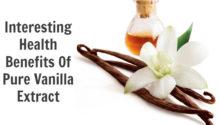 10 health benefits of vanilla